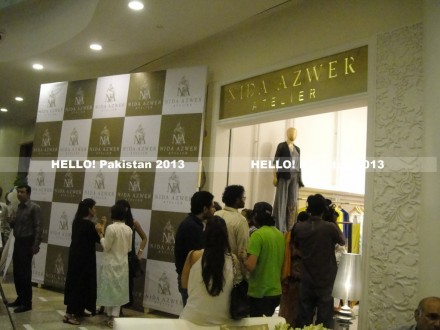 Nida Azwer's Karachi store launch-2013
