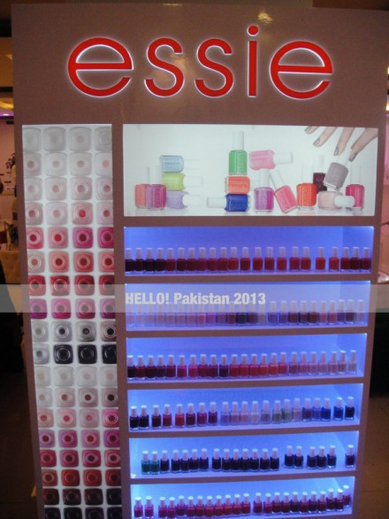 The Launch of Essie in Karachi