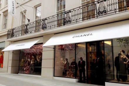 Chanel's new store on Bond Street in London